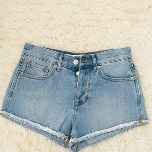 Brandy Melville Jean Shorts Size 24